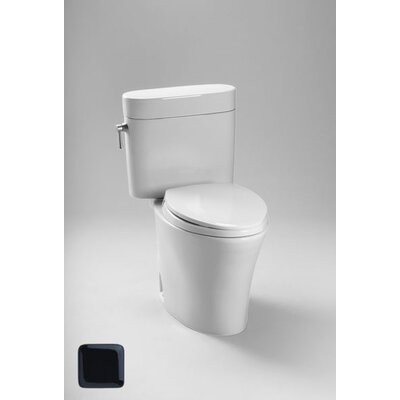 Nexus 1.6 GPF Elongated Two-Piece Toilet Finish: Ebony