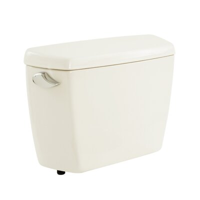 Carusoe 1.6 GPF Toilet Tank Toilet Finish: Colonial White