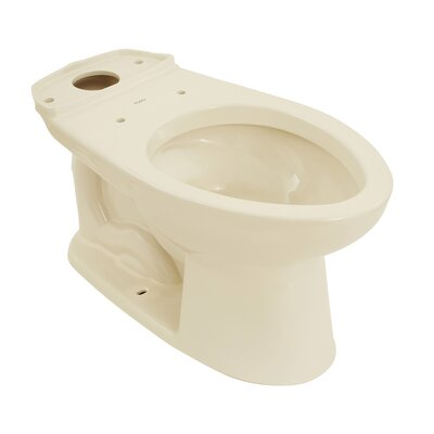Drake Eco Elongated Toilet Bowl Toilet Finish: Sedona Beige