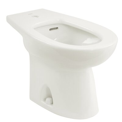 "Piedmont 15"" Deck Floor Mount Bidet Bidet Finish: Colonial White"