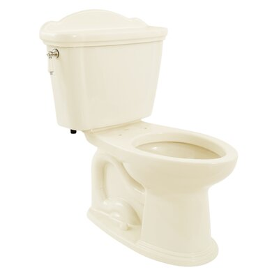 Whitney Eco 1.28 GPF Elongated Two-Piece Toilet Toilet Finish: Sedona Beige