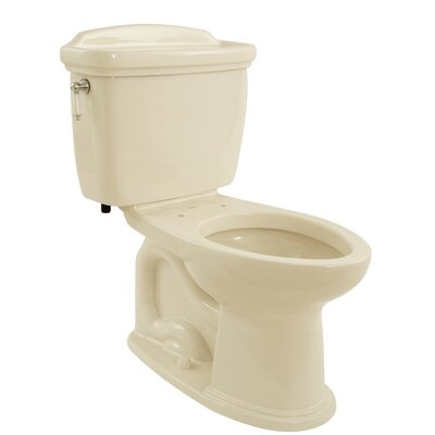 Dartmouth 1.6 GPF Elongated Two-Piece Toilet Toilet Finish: Bone