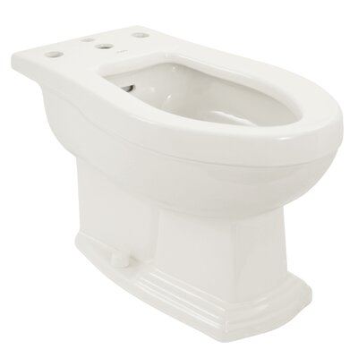 Clayton 15 Floor Mount Bidet Bidet Finish: Cotton