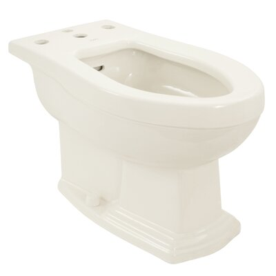 Clayton 15 Floor Mount Bidet Bidet Finish: Colonial White