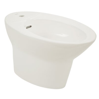 Pacifica 15 Deck Floor Mount Bidet Bidet Finish: Cotton