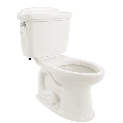 Dartmouth Eco 1.28 GPF Elongated Two-Piece Toilet Toilet Finish: Cotton