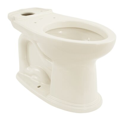 Dartmouth  ADA Compliant 1.28 GPF Elongated Toilet Bowl Toilet Finish: Sedona Beige