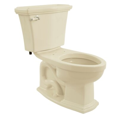 Clayton Eco 1.28 GPF Elongated Two-Piece Toilet Toilet Finish: Bone