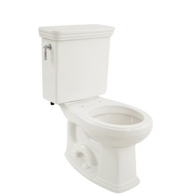 Promenade Eco 1.28 GPF Round Two-Piece Toilet Toilet Finish: Cotton