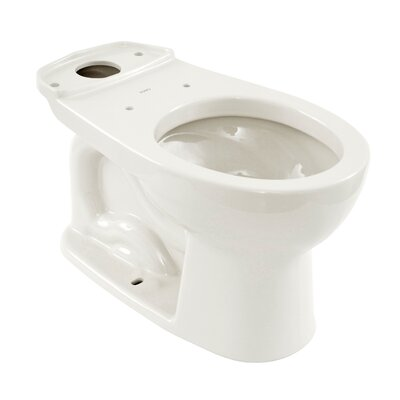 Drake 1.6 GPF Round Toilet Bowl Toilet Finish: Cotton