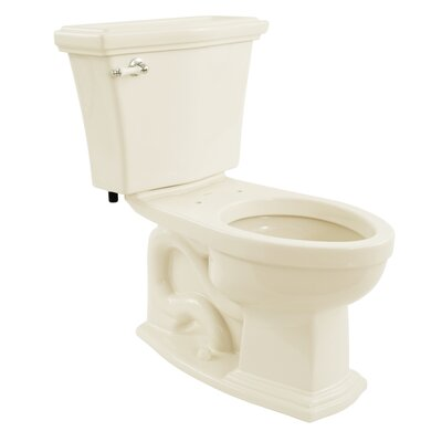 Clayton Eco 1.28 GPF Elongated Two-Piece Toilet Toilet Finish: Sedona Beige