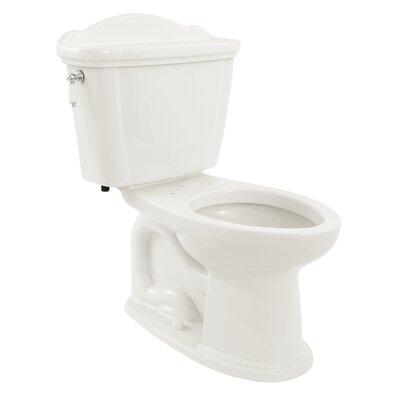 Whitney Eco 1.28 GPF Elongated Two-Piece Toilet Toilet Finish: Cotton