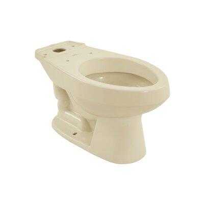 Carusoe 1.6 GPF Elongated Toilet Bowl Toilet Finish: Bone