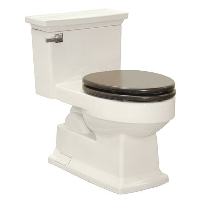 Lloyd 1.6 GPF Elongated One-Piece Toilet Toilet Finish: Colonial White