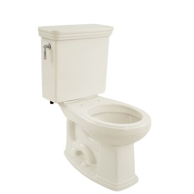Promenade Eco 1.28 GPF Round Two-Piece Toilet Toilet Finish: Colonial White