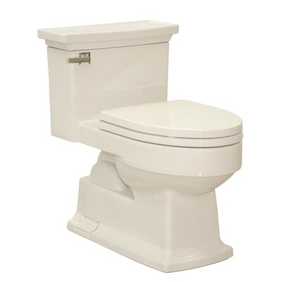 Lloyd Eco 1.28 GPF Elongated One-Piece Toilet Toilet Finish: Bone
