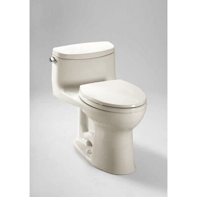 Supreme II High Efficiency 1.28 GPF Elongated One-Piece Toilet Toilet Finish: Colonial White