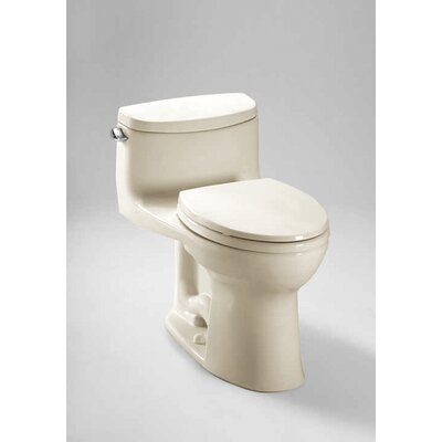 Supreme II High Efficiency 1.28 GPF Elongated One-Piece Toilet Toilet Finish: Sedona Beige