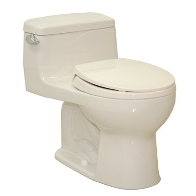 Supreme 1.6 GPF Elongated One-Piece Toilet Toilet Finish: Sedona Beige