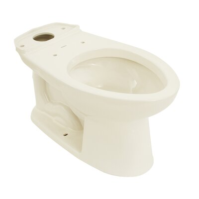 Drake� Eco Elongated Toilet Bowl Toilet Finish: Colonial White