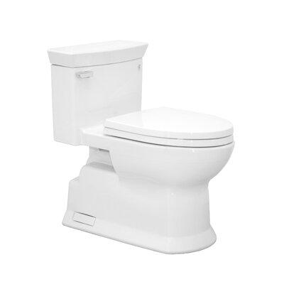 Soir�e Eco 1.28 GPF Elongated One-Piece Toilet Toilet Finish: Cotton