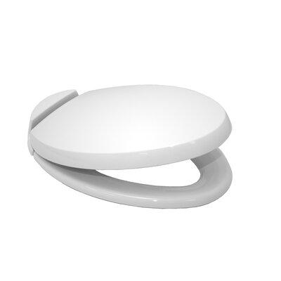 SoftClose Elongated Beveled Lid Toilet Seat Seat Finish: Cotton