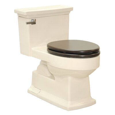 Lloyd 1.6 GPF Elongated One-Piece Toilet Toilet Finish: Bone