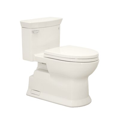 Soir�e Eco 1.28 GPF Elongated One-Piece Toilet Toilet Finish: Colonial White