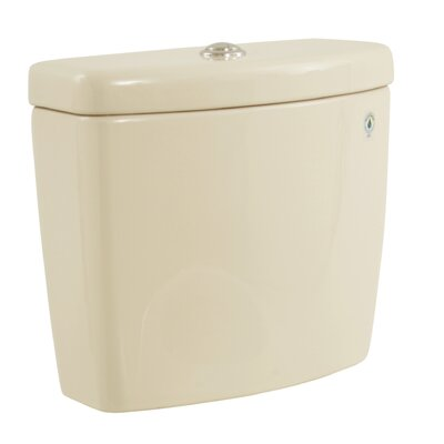 Aquia II Dual Flush Toilet Tank Toilet Finish: Bone