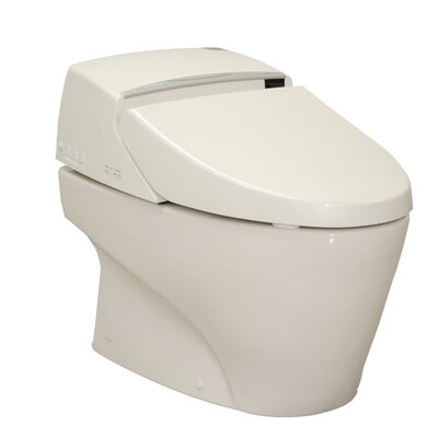 Neorest 1.6 GPF Elongated One-Piece Toilet with Touchless Flush Finish: Cotton