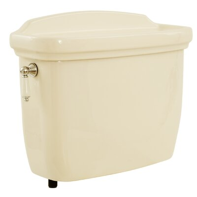 Dartmouth 1.6 GPF Toilet Tank Toilet Finish: Bone