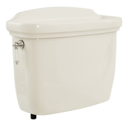 Dartmouth 1.6 GPF Toilet Tank Toilet Finish: Colonial White