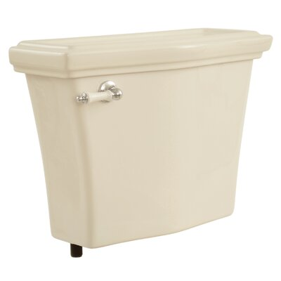 Clayton 1.6 GPF Toilet Tank Toilet Finish: Bone