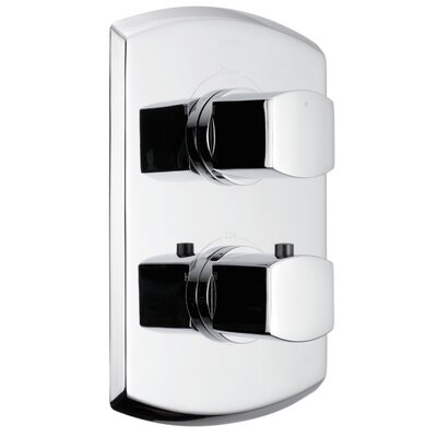 Soiree Valve Trim with Single Volume Control Trim Finish: Polished Chrome
