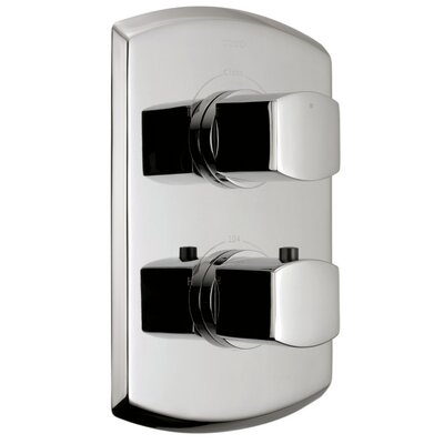 Soiree Valve Trim with Dual Volume Control Trim Finish: Brushed Nickel