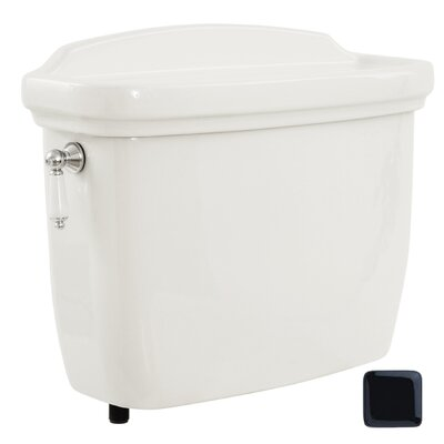 Dartmouth 1.6 GPF Toilet Tank Toilet Finish: Ebony