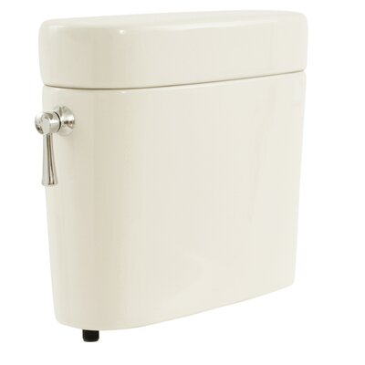 Nexus 1.6 GPF Toilet Tank Toilet Finish: Colonial White