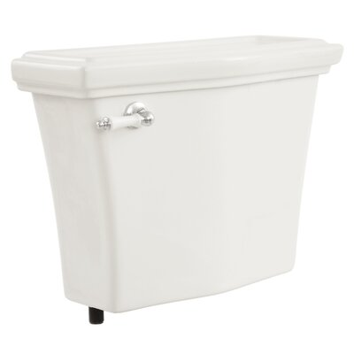 Clayton 1.6 GPF Toilet Tank Toilet Finish: Cotton