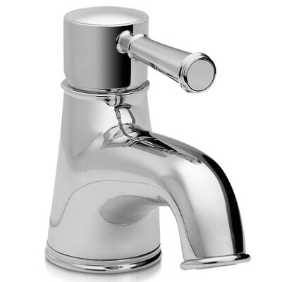 Vivian Single Handle Single Hole Bathroom Faucet Faucet Finish: Brushed Nickel