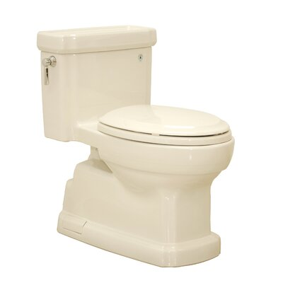 Guinevere 1.28 GPF Elongated One-Piece Toilet Toilet Finish: Bone