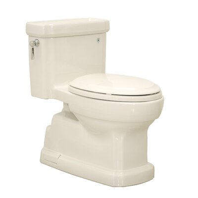 Guinevere 1.28 GPF Elongated One-Piece Toilet Toilet Finish: Sedona Beige