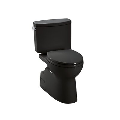 Vespin II High Efficiency 1.28 GPF Elongated Two-Piece Toilet