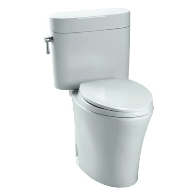 Nexus 1.28 GPF Elongated Two-Piece Toilet Toilet Finish: Cotton