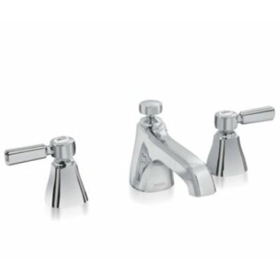 Guinevere Double Handle Widespread Bathroom Faucet Faucet Finish: Polished Chrome