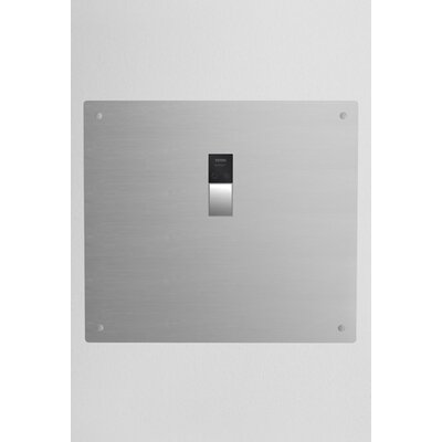 High Efficiency Concealed Sensor Urinal Flush Valve with 1.25 Vacuum Breaker in Satin Stainless Steel