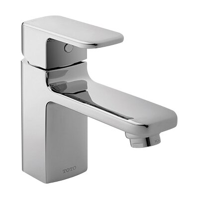 Upton Single Handle Single Hole Bathroom Faucet Faucet Finish: Polished Chrome
