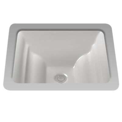 Aimes Rectangular Undermount Bathroom Sink Finish: Sedona Beige