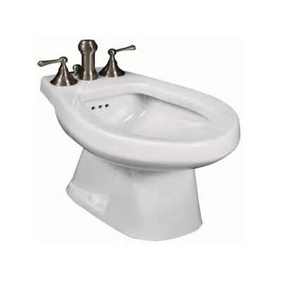 Pacifica 15 Deck Floor Mount Bidet Bidet Finish: Colonial White