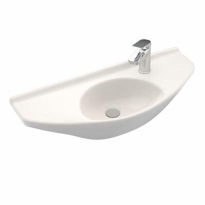 30 Wall Mount Bathroom Sink Sink Finish: Sedona Beige