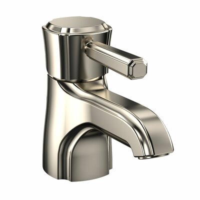 Guinevere Single Handle Single Hole Bathroom Faucet Finish: Brushed Nickel, Flow Rate: 1.5 GPM